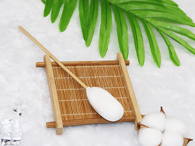 "8"" Bamboo medical functional suction cotton buds swab"